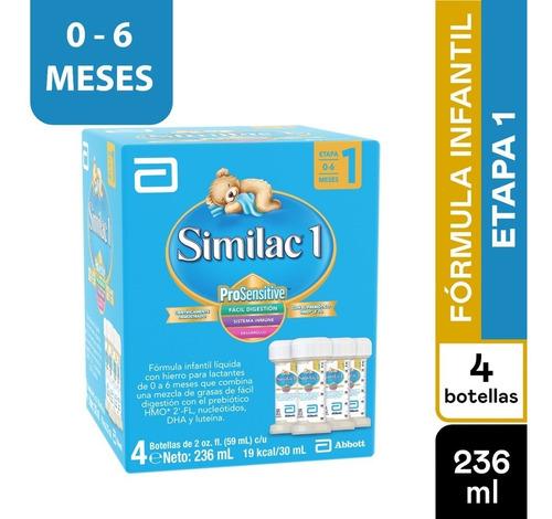 Formula Infantil Similac Liquida Prosensitive Etapa 1 X 4und