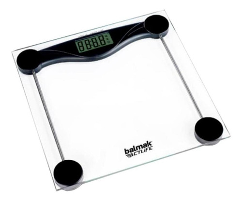 Balança Corporal Digital Balmak Slimbasic-200 Transparente