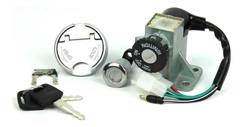 Kit Suiche Kymco Agility Switch Encendido Tapa Gasolina Nake