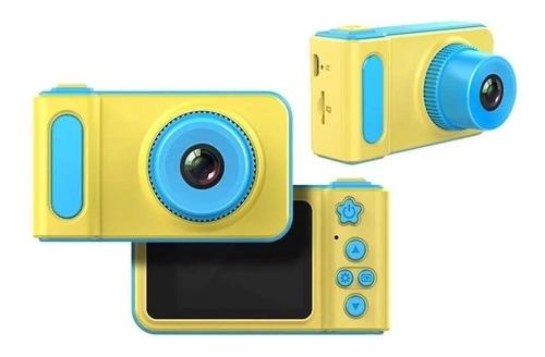 Mini Câmera Digital Infantil Foto E Vídeo  Azul Ou Rosa