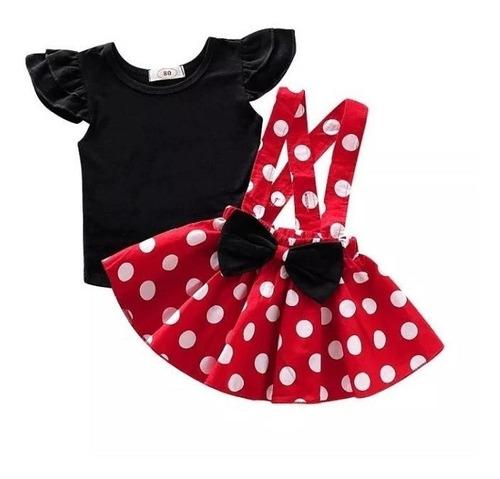 Conjunto Infantil Minnie Mickey Mouse Roupa De Frio