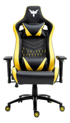 Cadeira Gamer Raven X-30 Estrutura Metal Suporta Até 200kg