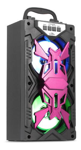 Caixa De Som Bluetooth Portátil Grasep D-bh4204 Usb Sd Fm P2