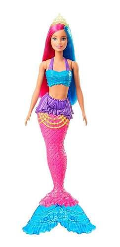 Barbie Dreamtopia- Sereia Calda Rosa