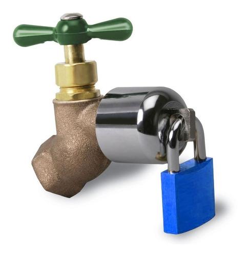 Proteccion Candado Para Tomas Llaves De Agua-evite Robo Agua