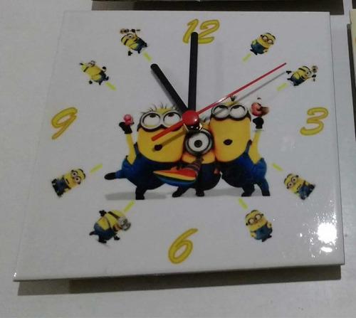 Relógio Em Azulejo Personalizado 20x20