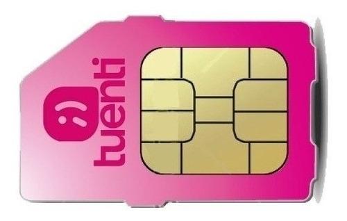 Chip Sim Card Prepago Tuenti 4g Nano Microcentro