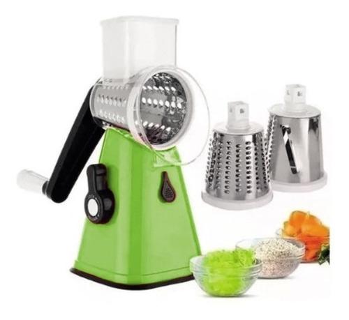 Rallador Rebanador De Verduras Y Frutas Salad Maker Kanji Ve