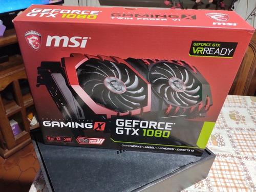Placa De Video Msi Gaming X Geforce Gtx 1080 8gb