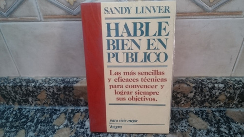Hable Bien En Publico -sandy Linver