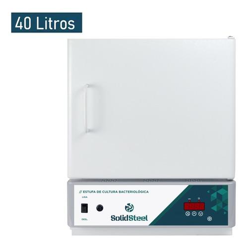 Estufa De Cultura Bacteriológica Digital 40 Litros