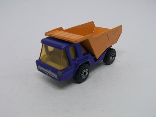 ( L - 80 ) Matchbox Superfast N. 23 Miniatura Caminhão Atlas