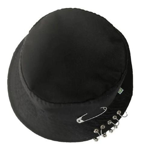 Chapéu Bucket Hat Bts-k-pop, Com Argolas E Piercing