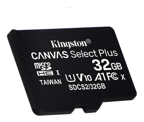 Tarjeta De Memoria Kingston Sdcs2/sp  Canvas Select Plus 32gb
