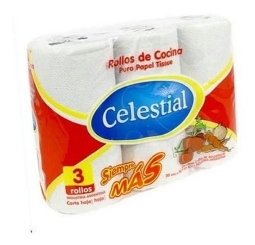 Combo 5 -72 Rollos De Cocina + 48 Rollos De Papel Higienico