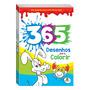 Livro 365 Desenhos Para Colorir Azul