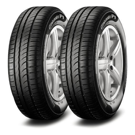 Kit X2 Pirelli P1 Cint 195/60 R16 89h Neumen Ahora18