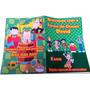 Revista Colorir Giz Sacola Aplique Tubete (20 Unidade)