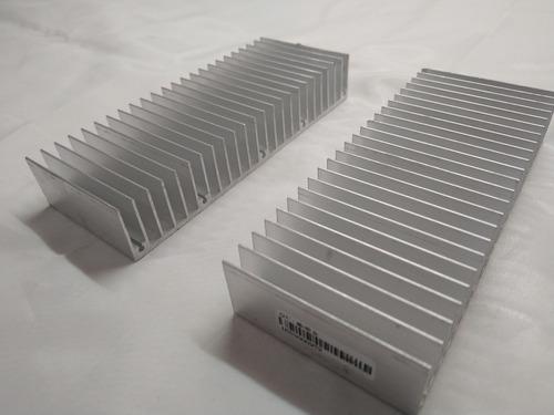 2 Disipadores Aluminio Para Proyectos Electronicos