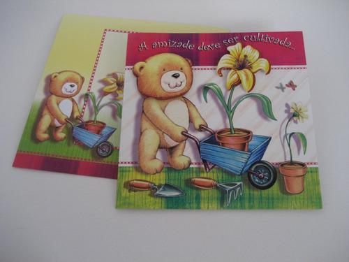 20 Cartões De Aniversário, Amor E Amizade Original