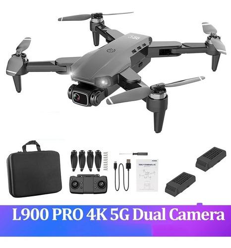 Drone L900 Pro Câmera 4k Motor Brushless 5g+case +2 Baterias