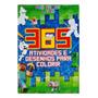 Livro Minecraft 365 Atividades E Desenhos Para Colorir