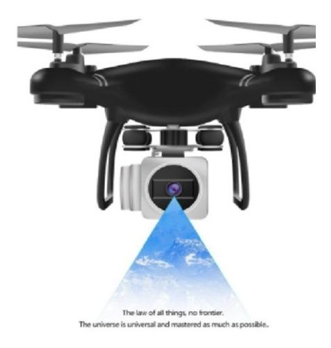 X54 2.4g Wifi Controle Remoto Rc Drone Avião Quadcopter Com