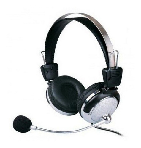 Fone De Ouvido Pc Lan House Escritório Office Com Microfone