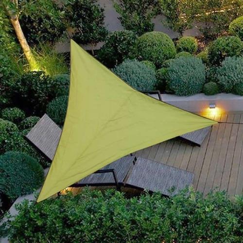 Outdoor Impermeável Triangular Uv Solar Sombra Combinação Ve
