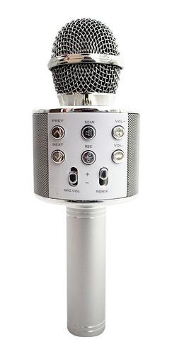 Microfone Bluetooth Sem Fio Youtuber Karaoke Promoção!