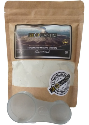 Zeolita Clinoptilolita Standard 250g Potencializada P. Saúde