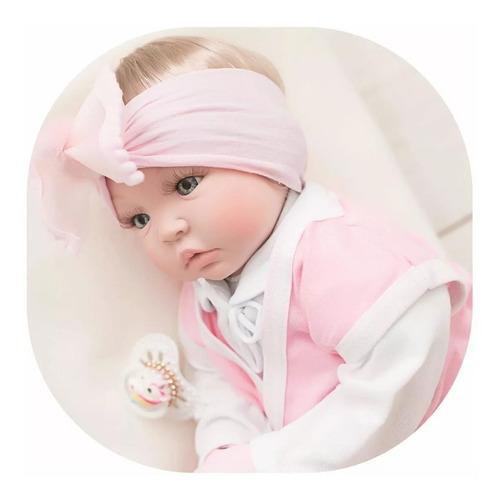 Bebe Reborn 16 Itens + Bolsa Maternidade