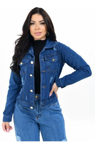Jaqueta Jeans Feminina Atacado Revenda Barato Kit Ou Sozinha