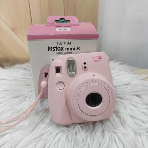 Camara Fotográfica Instantánea Instax Mini 8 Rosa