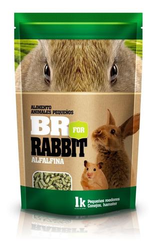 Alimento Premium Hamster, Conejos, Cobayos 1k