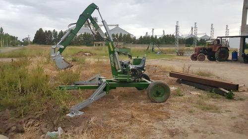 Mini Retro Excavadora Zanjadora Borda Bossana Joystick