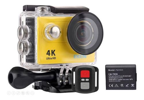 Câmera De Ação Eken H9r 4k Wifi Controle Bateria Extra Nf