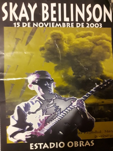 Poster Skay Beilinson Obras 2003