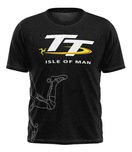 Camiseta Camisa Tt Isle Of Man Moto Gp Motogp