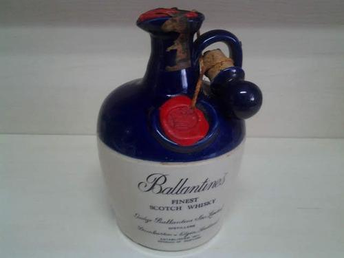 Whisky Ballantines Barrica Ceramica Jug - Garrafa Lacrada