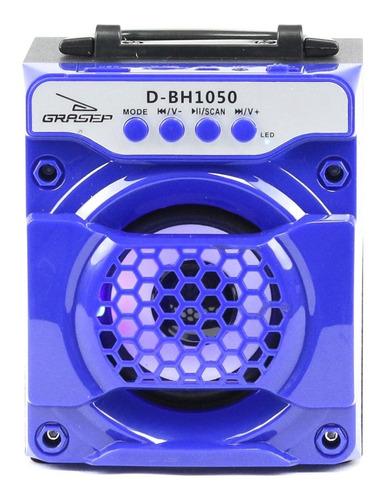 Caixa Som Bluetooth Potente Portátil Mp3 Usb Aux P2 Rádio Fm