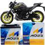 Bateria Moura Original Moto Mt 03 Std/abs 2017 À 18 Oferta