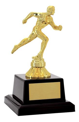 Troféu Atletismo Corrida Maratona (masc Ou Fem) - 19 Cm