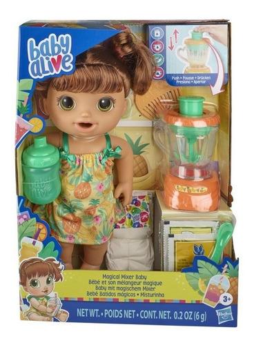 Baby Alive Misturinha Sabor Tropical Morena - Hasbro E6944