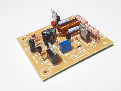 Placa Amplificador 100w Rms Montada Sem As Saídas.