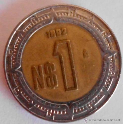 Monedas De $1 Nuevo Peso 1992
