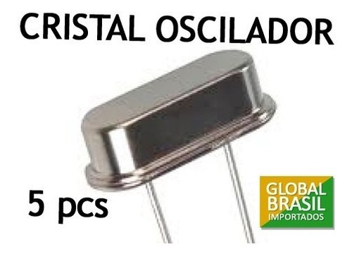 Cristal Oscilador 20 Mhz ( 20.000 Khz ), 10 Pçs. Original