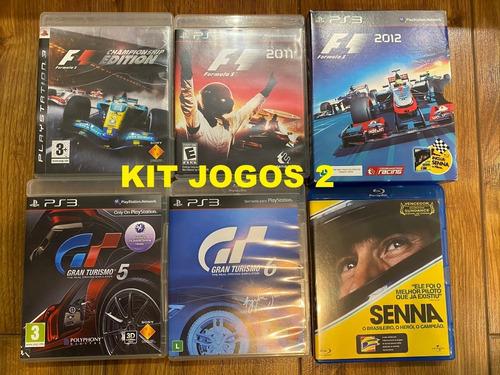 Jogos Fisico Ps3 - F1 Championship Edition - Gran Turismo 6