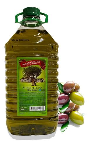 Aceite De Oliva 5 Litros Prensado Frio Extra Virgen - Blend