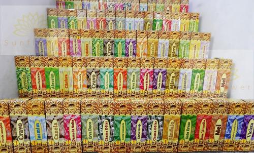 Incenso Golden Com Até 5 Aromas Sortidos Por Caixa